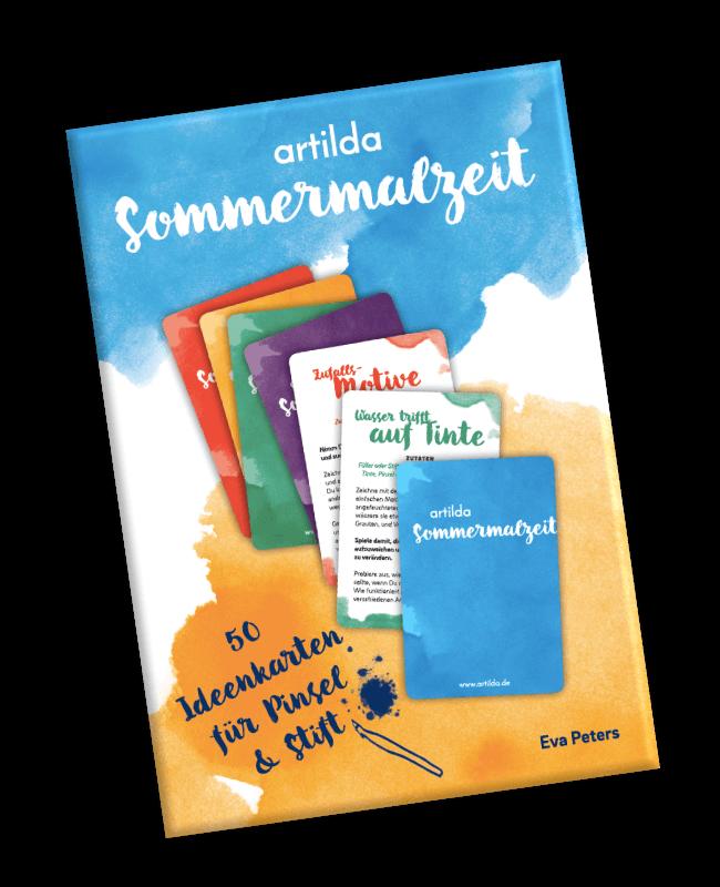 artilda Sommermalzeit Ideenkarten