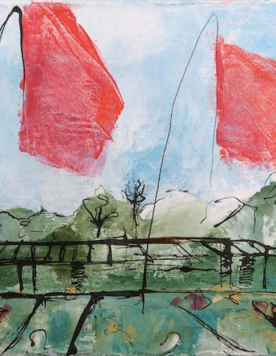 Rosendals Flaggen