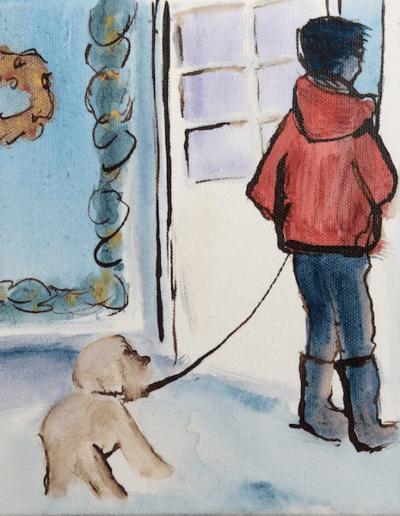 Rosendals mit Hund