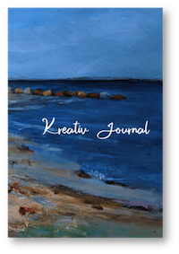 "Kreativ-Journal, Motiv ""Dänischer Sommer am Meer"" von Eva Peters"